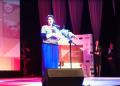 Joanna Cywińska odbiera nagrody w imieniu aktorek, twórców i produkcji
